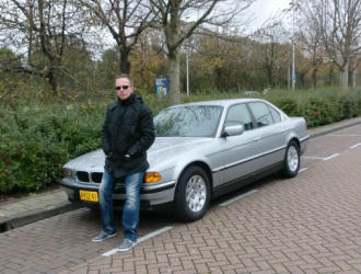 BMW 740iA, youngtimer lease, bijtelling